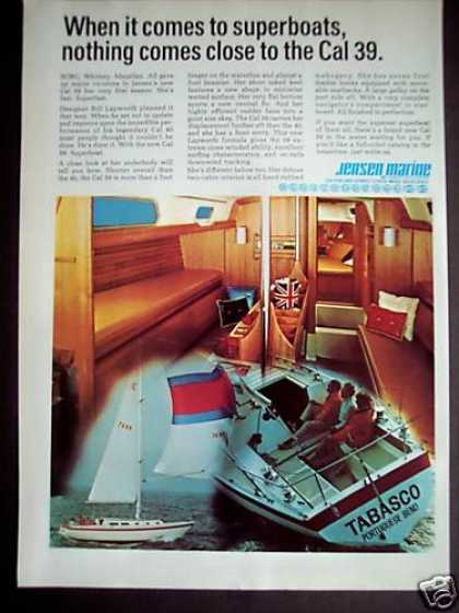 Jensen's Cal 39 Superboat Bill Lapworth (1971)