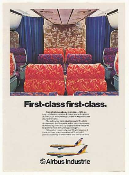 Airbus Industrie A300 A310 First Class Seats (1980)