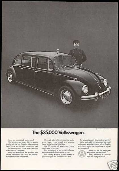 VW Volkswagen Bug Limo Limousine Photo (1971)