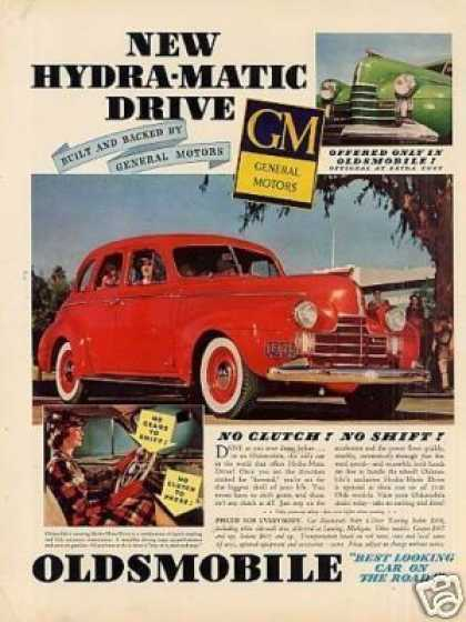 Oldsmobile Car (1940)