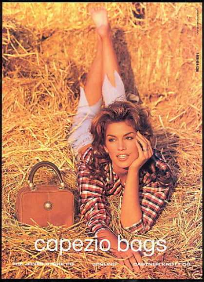 Capezio Bag Purse Cindy Crawford (1993)