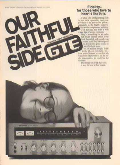 GTE Sylvania Audio Products – Our Faithful Side (1976)