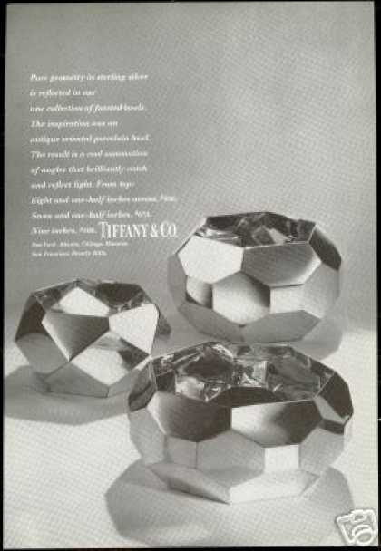Sterling Silver Bowls Tiffany & Co Photo (1972)