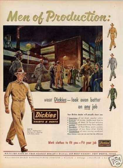 Dickies Work Clothes (1952)