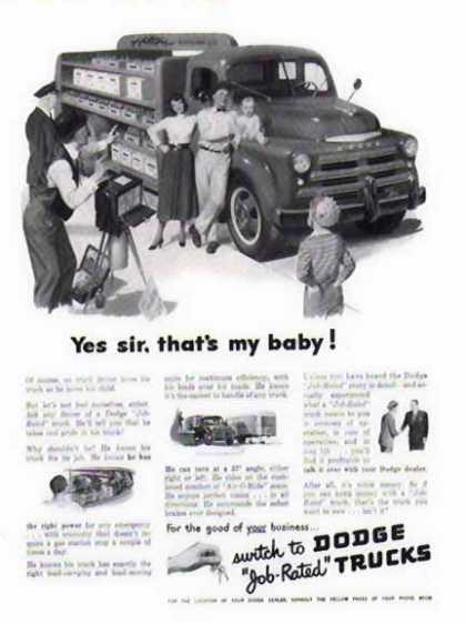 Dodge Trucks – Hilton Bottling Company (1949)