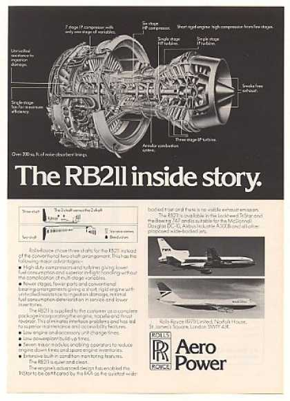Rolls-Royce RB211 Jet Engine Inside Story (1976)