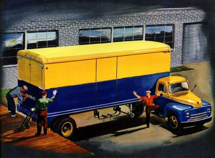 NEXT STOP: DESTINATION Trailmobile (1950)