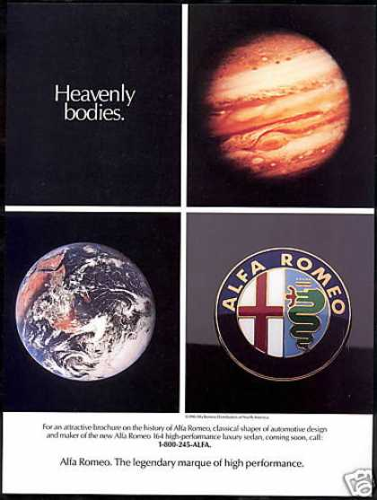 Alfa Romeo Car Heavenly Bodies Photo (1990)