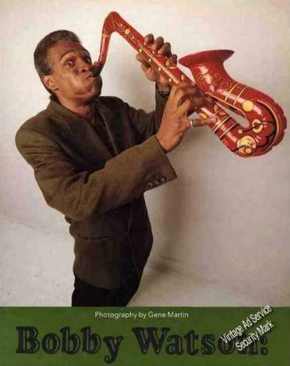 Bobby Watson Collectible Magazine Feature Photo (1992)