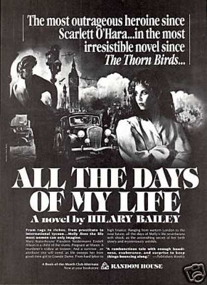 Hilary Bailey Novel Book Promo (1985)