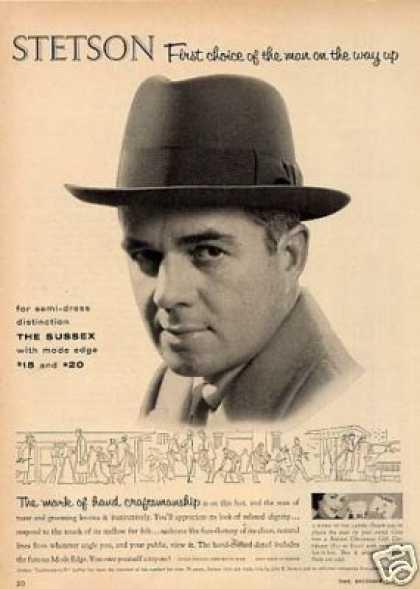 Stetson Sussex Hat (1955)