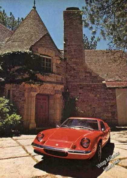 Red Lotus Europa Special Rare Print Photo (1973)