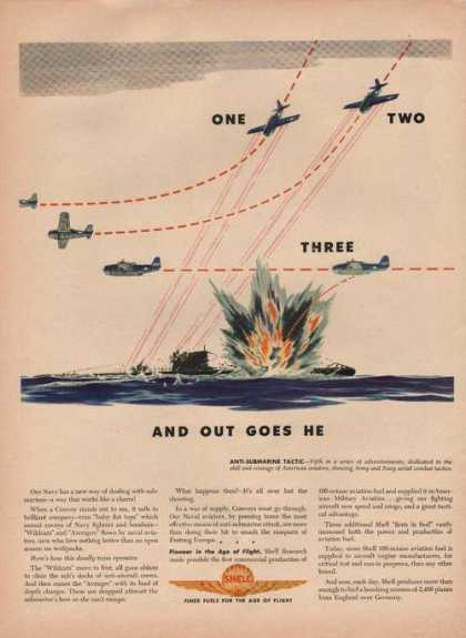 Shell Finer Fuels for the Age of Flight Ww (1944)