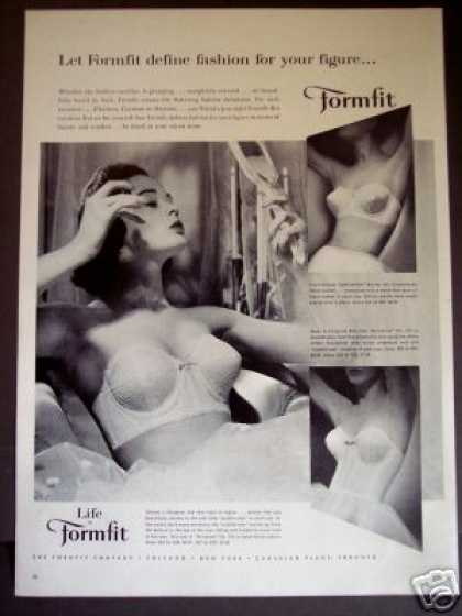 Formfit Life Bra Fashion (1957)