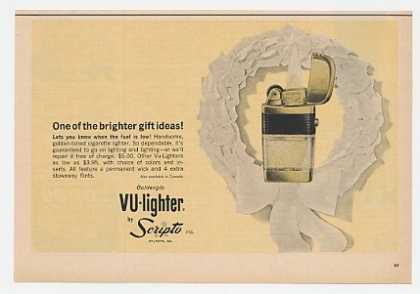 Scripto Goldenglo Vu-Lighter Wreath (1963)