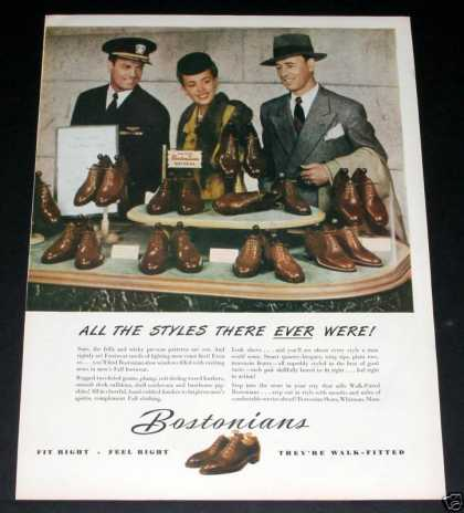 Old , Bostonian Shoes Fit Right (1944)
