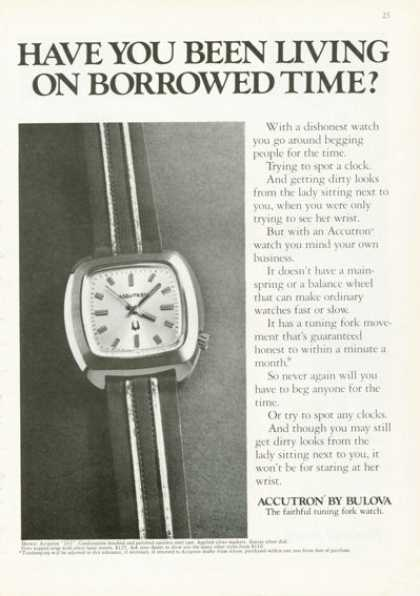 Accutron 263 Bulova Watch (1972)