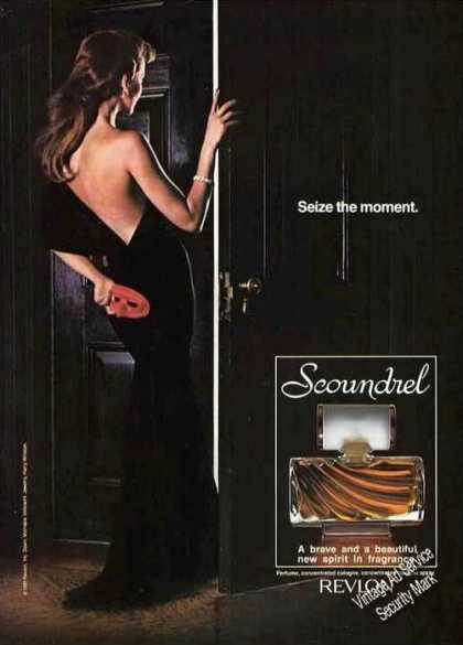 Scoundrel Perfume By Revlon Seize the Moment (1982)