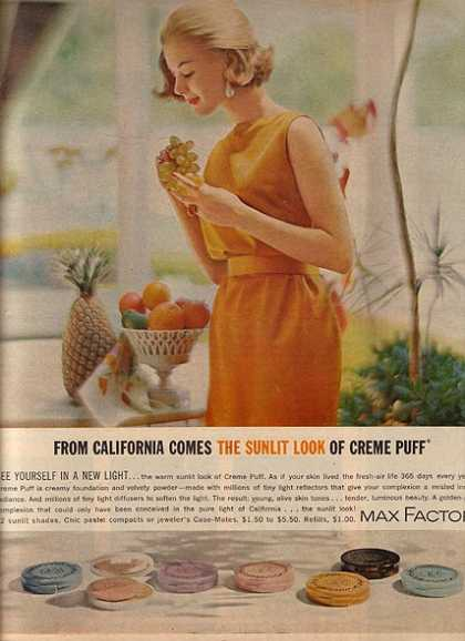 Max Factor's Creme Puff Foundation (1962)
