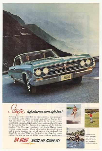 Olds Oldsmobile Starfire High Adventure Here (1964)