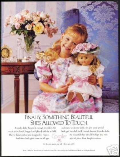 Corolle Doll Pretty Girl Photo (1989)
