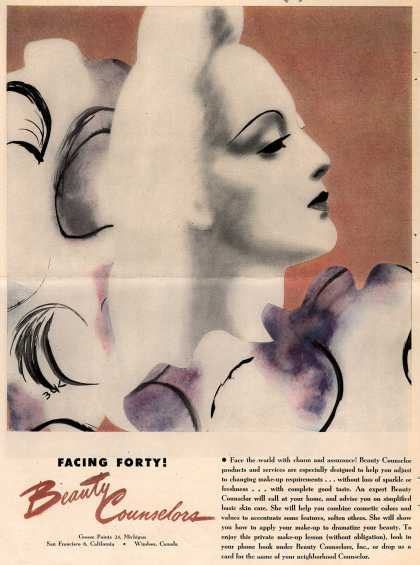 Beauty Counselors – Facing Forty! Beauty Counselors (1946)