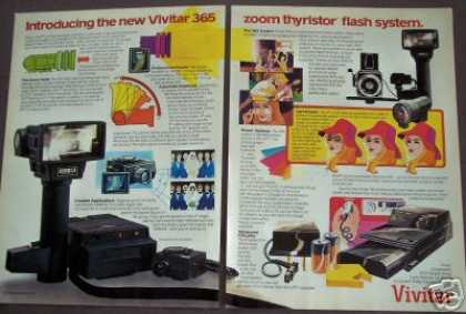 Vivitar 365 Thyristor Camera Flash System (1978)