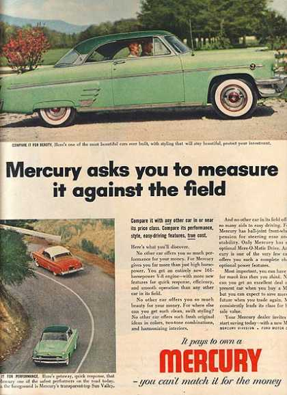 Ford's Mercury (1954)