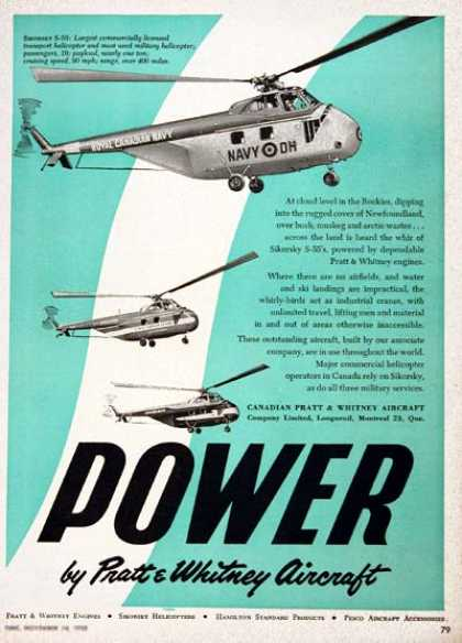 Sikorsky S-55 Military Helicopter (1955)