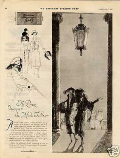 Printzess Fashion Ad 2 Page (1921)