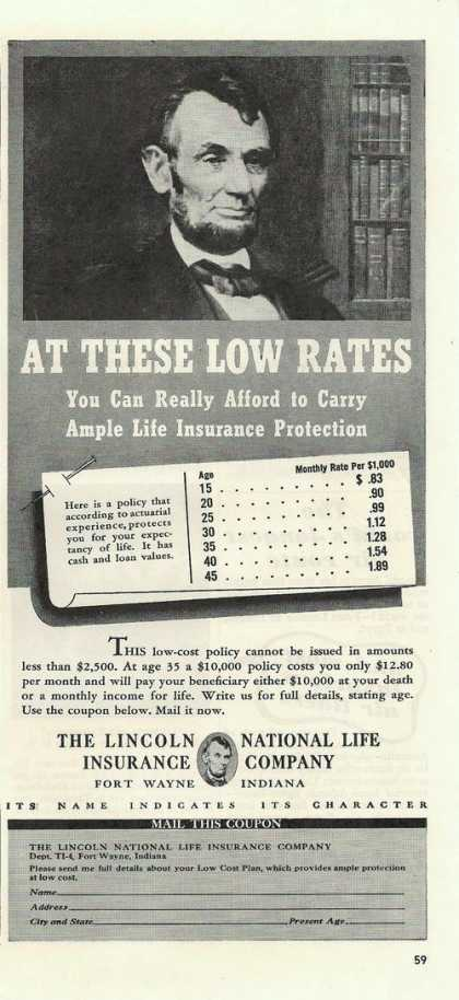 Lincoln National Life Insurance Co (1939)