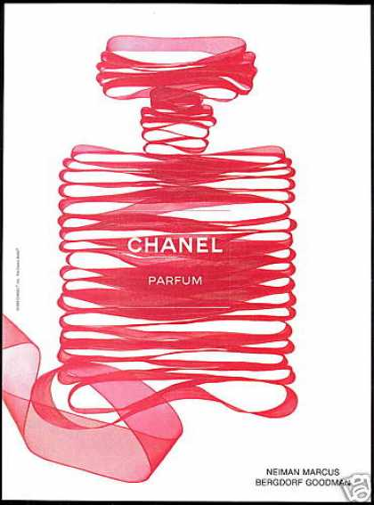 Red Ribbon Chanel No 5 Perfume Bottle (1999)