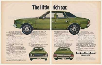 American Motors Hornet SST Little Rich Car (1970)