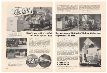 Dempster Dumpmaster Refuse Collection System 2P (1955)