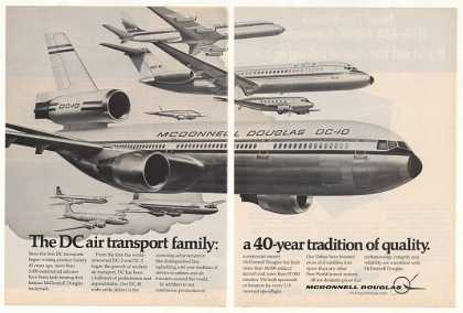 McDonnell Douglas DC-10 Air Transport Family 2P (1974)