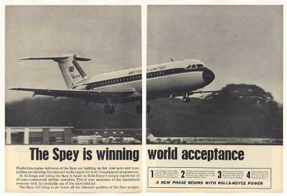 British United Airways Jet Rolls-Royce Spey 2-P (1963)