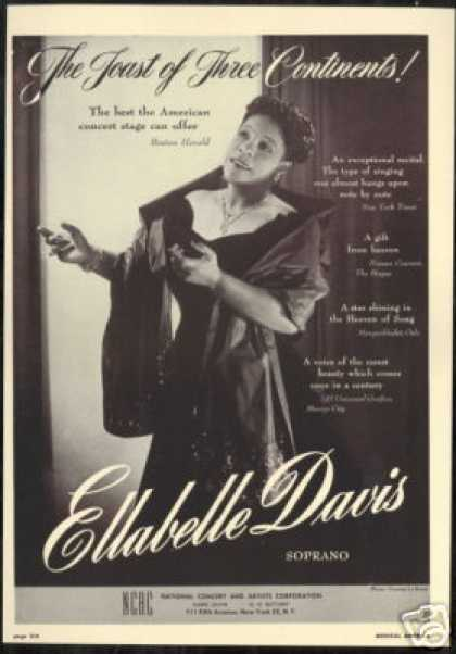 Ellabelle Davis Photo Reviews Booking (1949)
