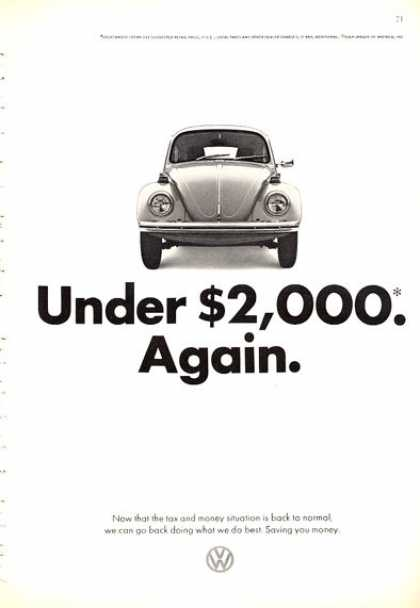 Vw Volkswagen Bug Under $2000...again (1972)