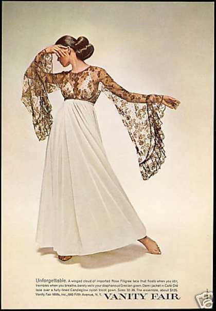 Vanity Fair Unforgettable Lace Lingerie (1969)