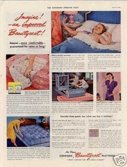 Simmons Beautyrest Mattress (1939)
