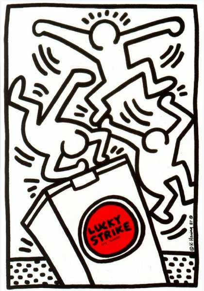 Lucky Strike VI – Keith Haring (1987)