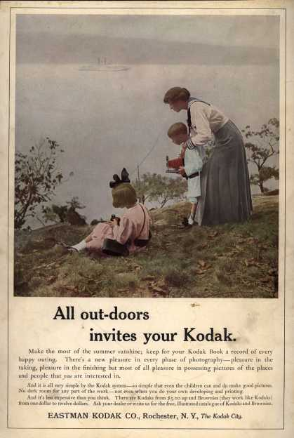 Kodak – All out-doors invites your Kodak
