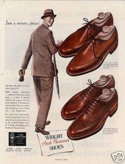 Wright Arch Preserver Shoes (1949)