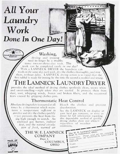 Lamneck Laundry Dryer