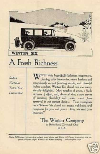 Winton Six Car (1919)