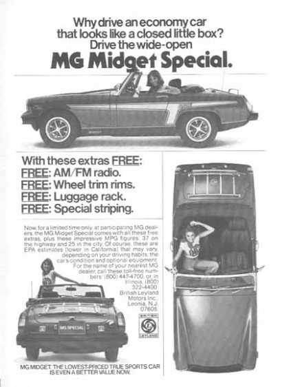 MGB Midget by British Leyland Motors Inc. Car – Leonia, NJ (1976)