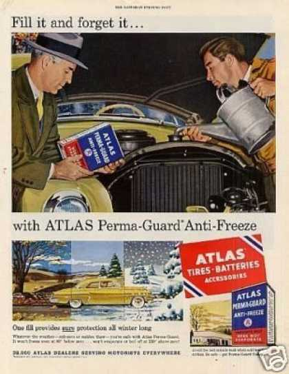 Atlas Perma-guard Anti-freeze (1953)