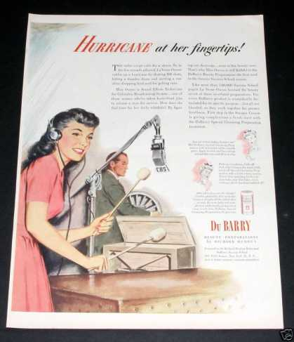 Old , Du Barry Beauty Prep, Cbs (1944)