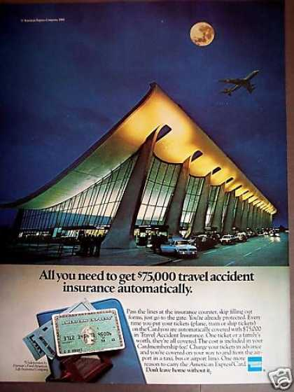 Airport Photo American Express Card Bank (1981)