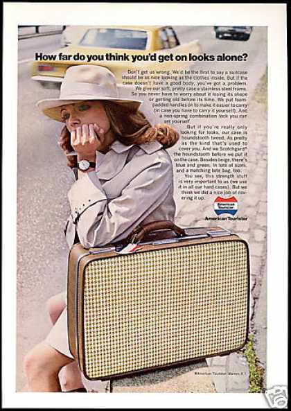 American Tourister Luggage Looks Alone (1969)